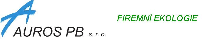 AUROS PB s. r. o. – firemní ekologie